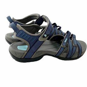 Teva Tirra Blue Outdoor Sport Sandals Size 10